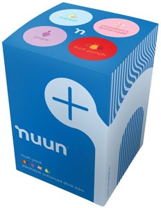 Nuun Active Hydration, Box of 4 Tubes New Flavors