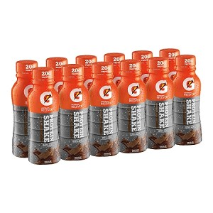 Gatorade Recover Protein Recovery Shake (Case of 12 Single Serve Recovery Shakes 11.16 fl oz each)