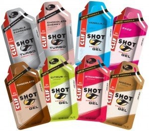Clif Shot Gel Energy Gel, 1.2-Ounce Packets, MIXED 24 Count
