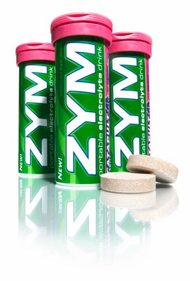 ZYM Endurance Electrolyte Drink Tabs Catapult Berry 1 Tube
